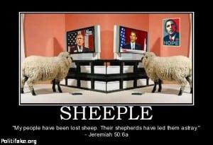 sheeple be like