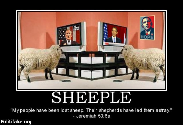 sheeple be like