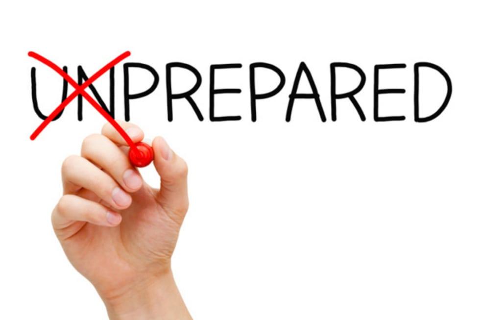 un-prepared