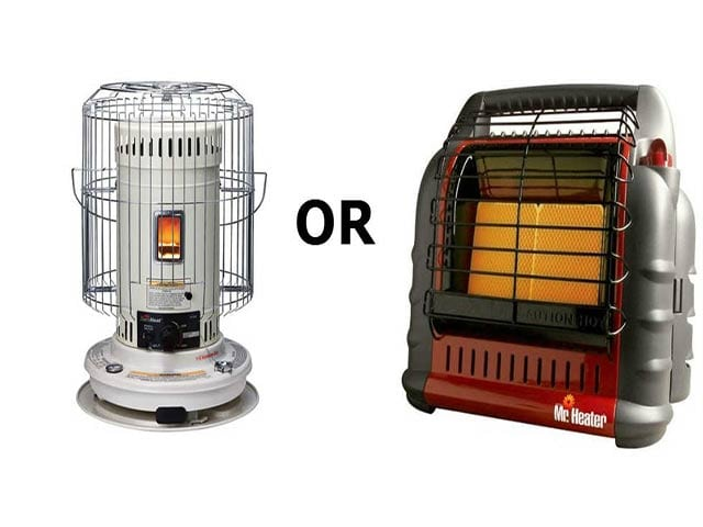 Kerosene or Propane Heater for Preparedness | On Point Preparedness