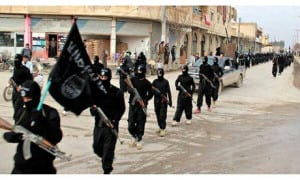 Isis-fighters-parade-thro-009