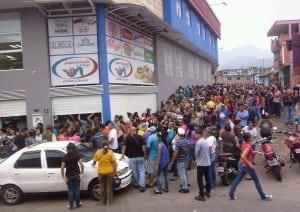 venezuela grocery store lines