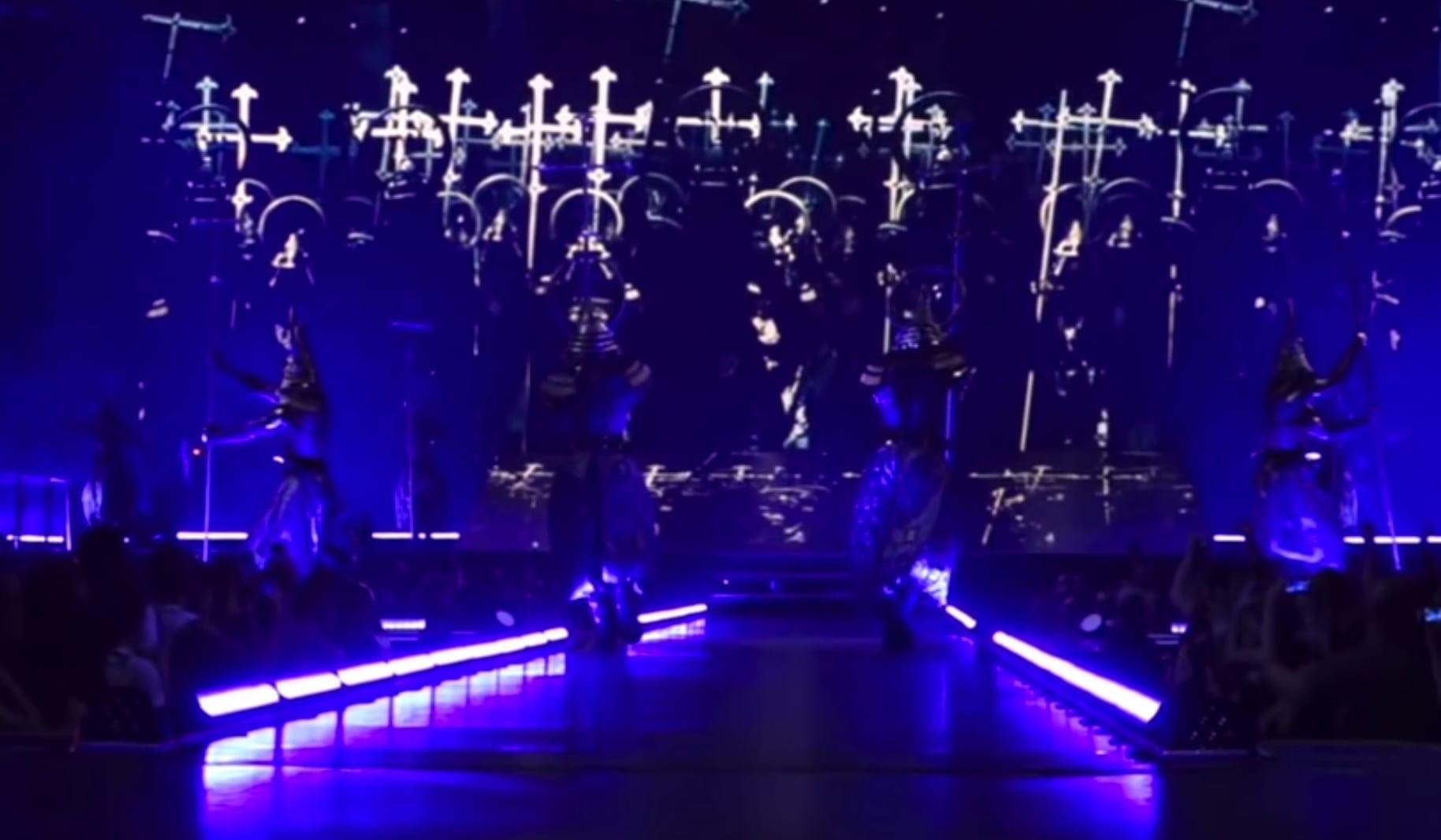 Madonna desecration