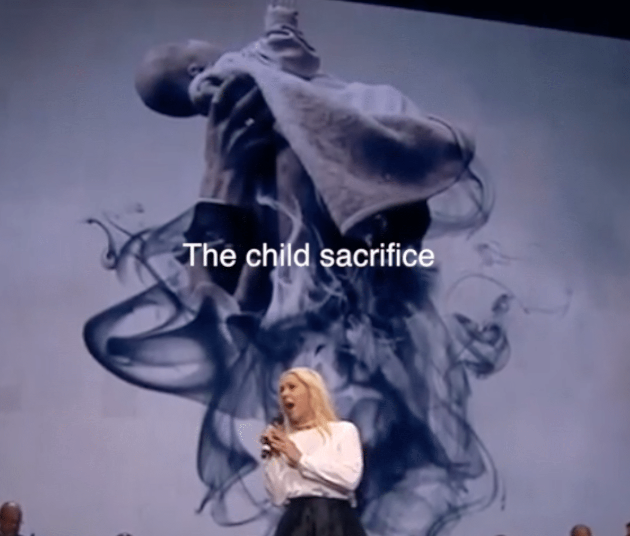 Pope Francis Child Sacrifice
