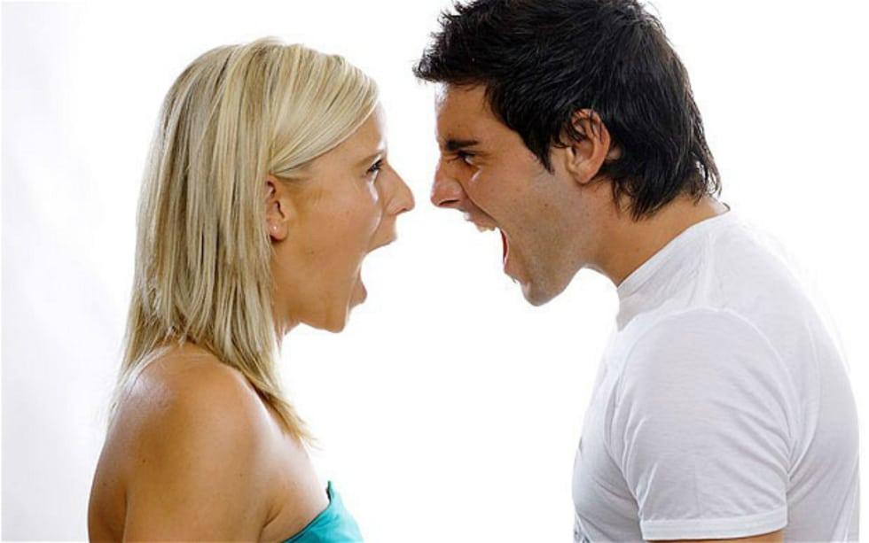 couples yelling