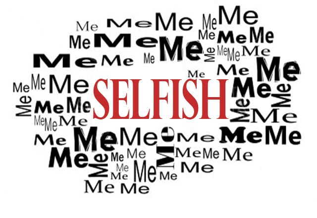 selfish prepper