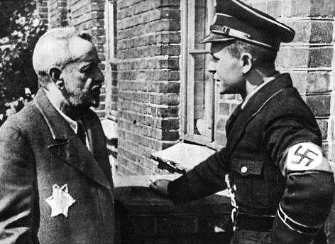 nazi-a-jew-with-star-of-david
