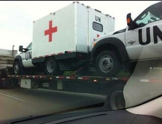 UN Medical Trucks